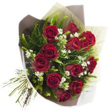 Buquê de Rosas Importadas-Vermelho-12