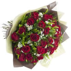 Buquê de Rosas Importadas-Vermelho-30