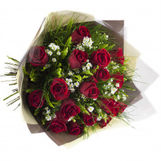 Buquê de Rosas Importadas-Vermelho-18