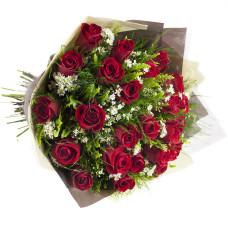 Buquê de Rosas Importadas-Vermelho-24